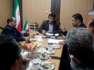 نشست مشترک مدیرکل و هیات رئیسه هیات پزشکی ورزشی استان البرز