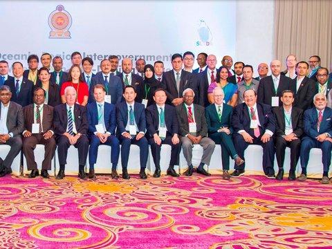 presenting performance record of Iran NADO in Srilanka