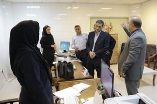 گزارش تصویری - بازدید رئیس فدراسیون پزشکی ورزشی از مرکز فیزیوترابی، دفتر هیات و دفتر خدمات درمانی هیات پزشکی ورزشی استان آذربایجان غربی