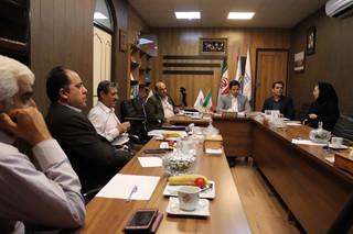 نشست هیات پزشکی با هیات فوتبال فارس
