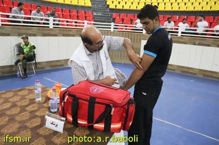 پوشش پزشکی مسابقات مچ اندازی قهرمانی باشگاه های کشور