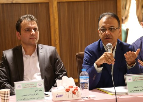 اهداف کمیته خدمات درمانی در گردهمایی استان ها محقق شد