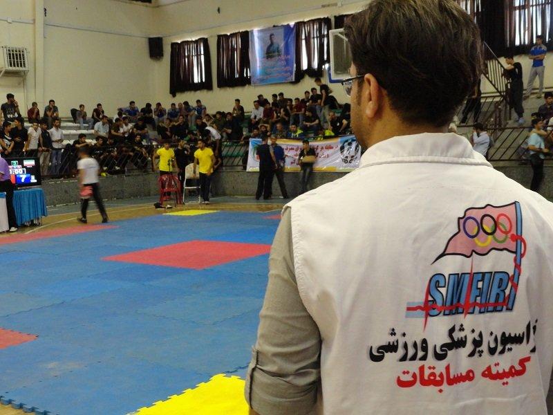 پوشش پزشکی بیش از ۴۰۰ ساعت رویدادهای مختلف ورزشی در کردستان