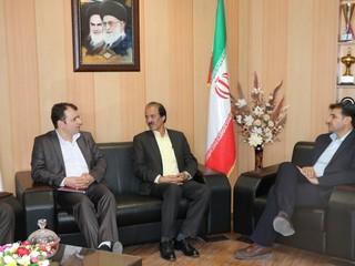 دیدار دکتر ملک محمدی - مدیر کل  ورزش و جوانان چهار محال وبختیاری