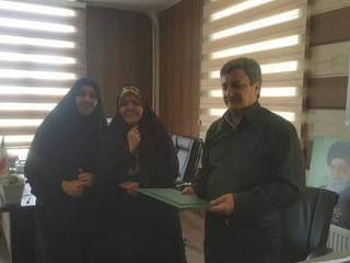 بازدید نمایندگان هیأت پزشکی قزوین از شهر محمدیه