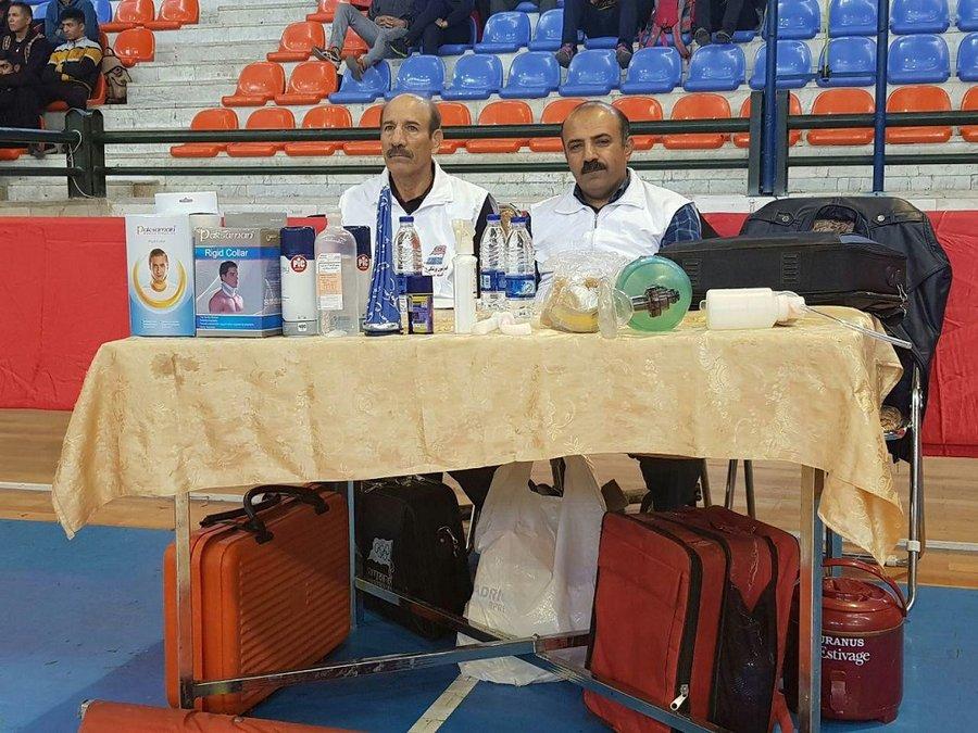 حضور فعال کمیته پوشش مسابقات هیات پزشکی ورزشی استان زنجان در رویداد های ورزشی