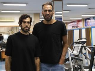 ستارگان بسکتبال در فدراسیون پزشکی ورزشی