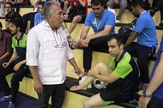 پوشش پزشکی مسابقات تنیس المپیاد ورزشی دانشجویان کشور