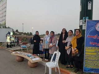 برگزاری پایگاه های مشاوره مردمی توسط انجمن فیزیوتراپی و هیات پزشکی ورزشی استان مازندران در شهرستان ساری