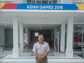 Opening of sports Medicine Clinic in Asian Games athletes' village in Jakarta