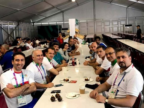 170cases of medical & physiotherapy visits sports medical staff of SMFI in 2018 Asian games