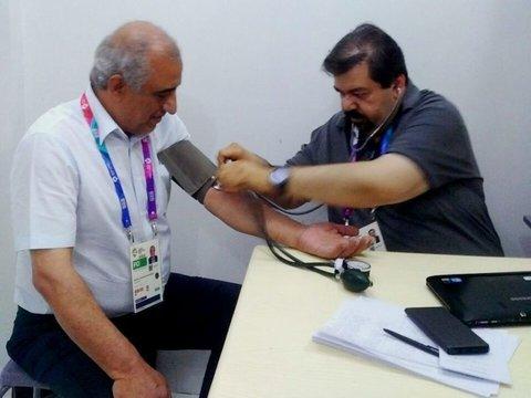 ارائه بیش از ۱۷۰ مورد ویزیت پزشکی و فیزیوتراپی در جاکارتا و پالمبانگ
