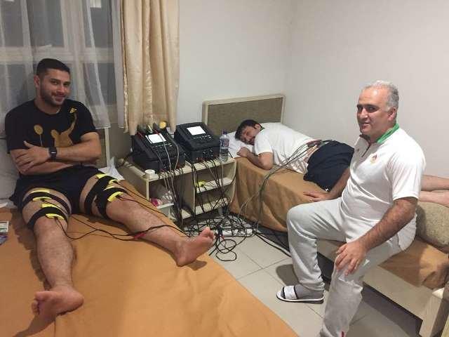 یک روز با پزشکی ورزشی در جاکارتا