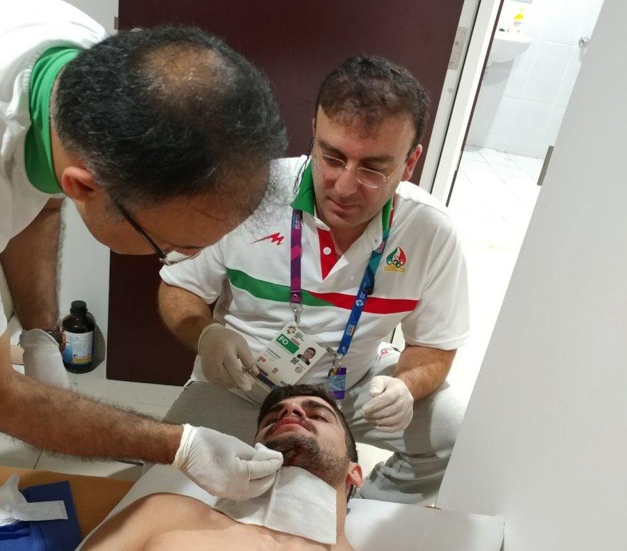 تلاش تیم اعزامی پزشکی ورزشی