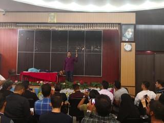 دوره آموزشی ماساژ ورزشی در اهواز برگزار شد