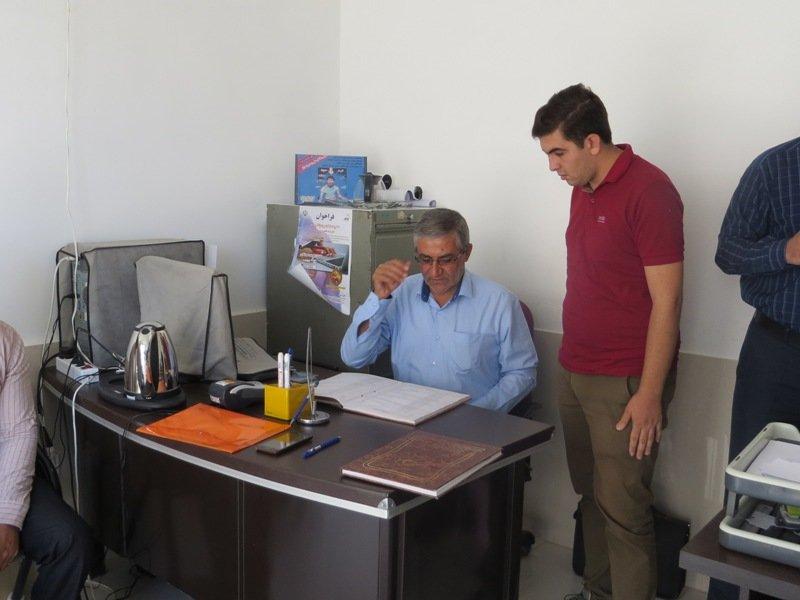 بازدید رضاپوریان از  هیات پزشکی ورزشی  شهرستان بروجن در چهار محال وبختیاری