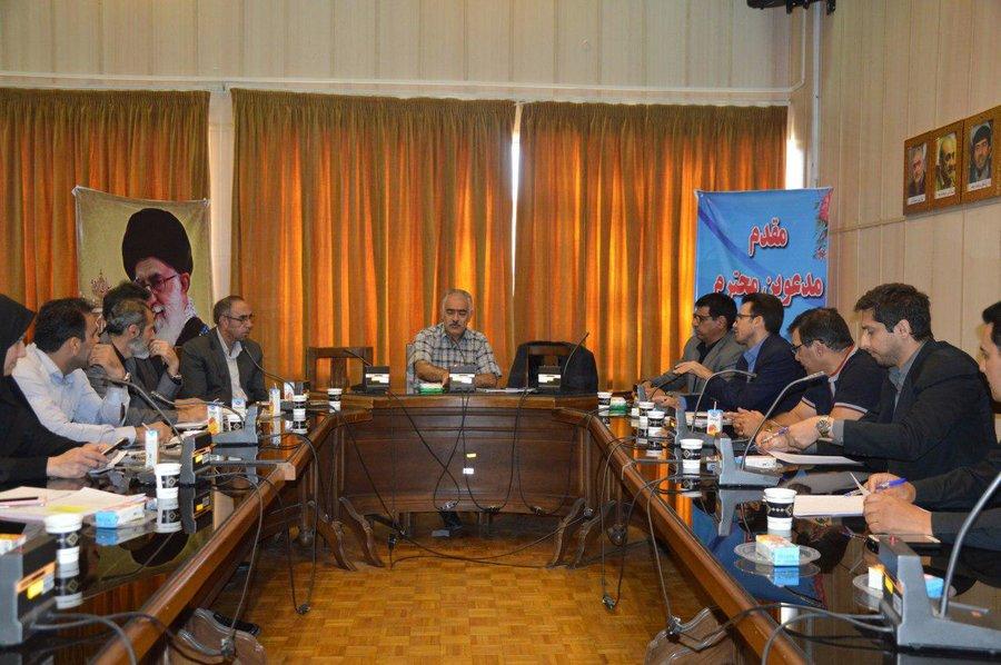 جلسه کمیته بدوی رسیدگی به تخلفات واماکن ورزشی استان تهران برگزار شد