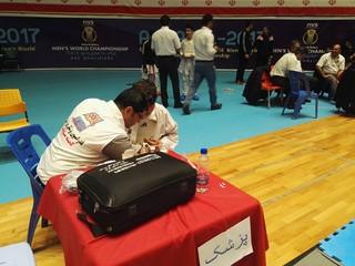 پوشش پزشکی لیگ کاراته وان کشوری