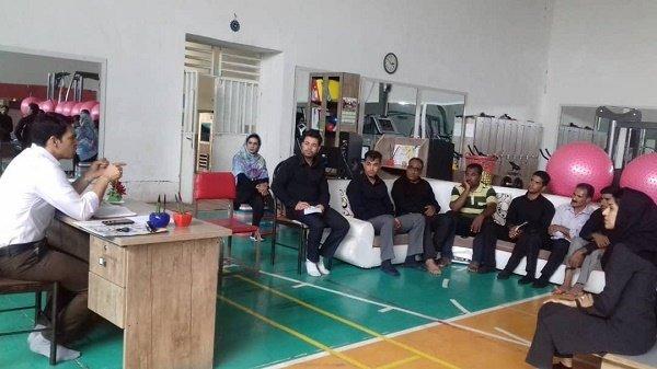 بازدید سرناظر ستاد بازرسی هیات پزشکی هرمزگان از شهرستان حاجی آباد