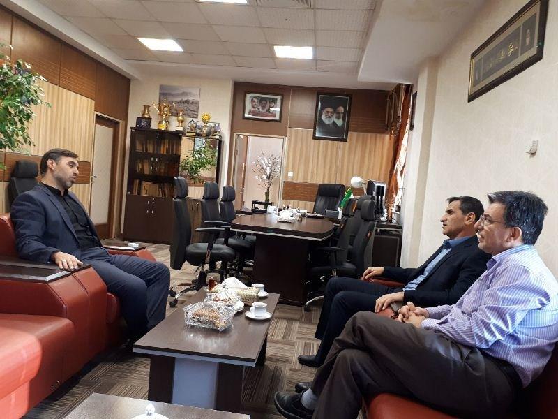 دیدار رئیس فدراسیون پزشکی ورزشی با مدیرکل ورزش و جوانان استان قزوین