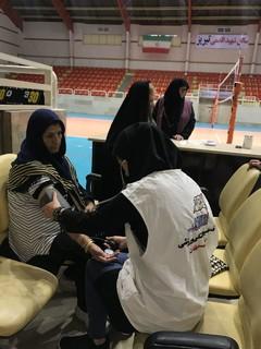 برگزاری ایستگاه سلامت در راستان آذربایجان شرقی