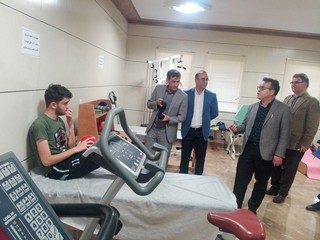 بازدید دکتر نوروزی از هیات پزشکی