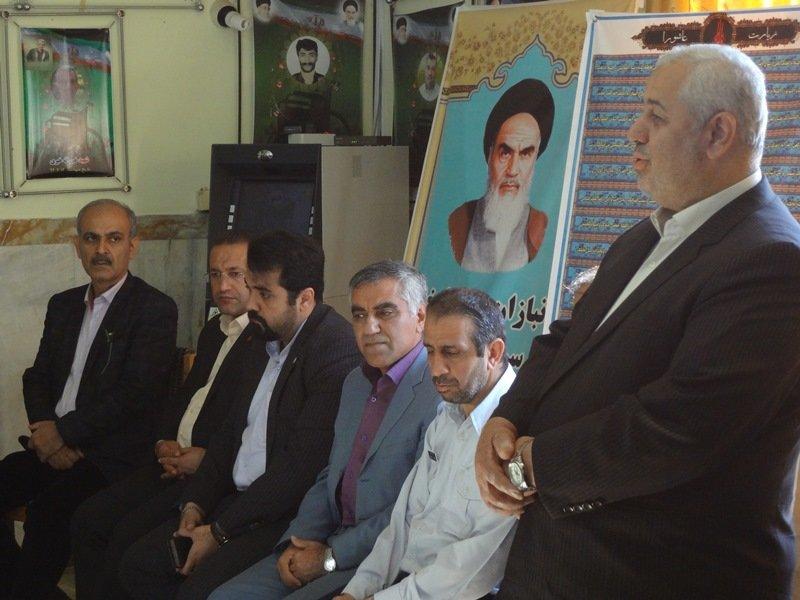 به مناسبت هفته تربیت بدنی رئیس و پرسنل هیات پزشکی ورزشی استان مازندران با مسئولین فدراسیون و اعضا تیم ملی جانبازان و معلولین جمهوری اسلامی ایران دیدار کردند