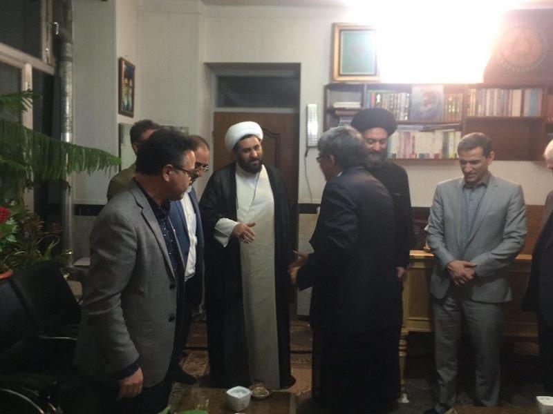 دکتر غلامرضا نوروزی با امام جمعه اردبیل دیدار کرد