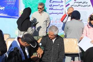 حضور مدیر کل ورزش و جوانان استان در ایستگاه تندرستی هیات پزشکی ورزشی زنجان