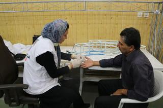 گزارش تصویری _ غربالگری دیابت و فشارخون کارکنان اداره کل ورزش و جوانان استان آذربایجان غربی