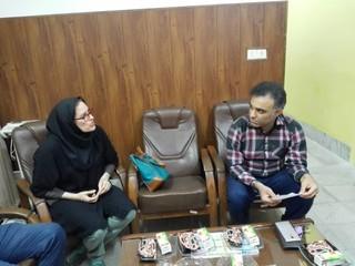 گزارش تصویری/بامسوولین دانشکده سماء بوشهر