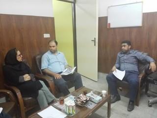 گزارش تصویری/جلسه هم اندیشی با امور درمان بیمارستان نهاجا بوشهر