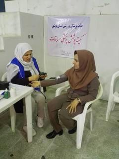 گزارش تصویری/پوشش پزشکی مسابقات چند جانبه بانوان استان بوشهر