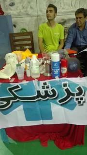 گزارش تصویری/پوشش پزشکی مسابقات سالنی سنگ نوردی انتخابی استان ویژه آقایان و بانوان