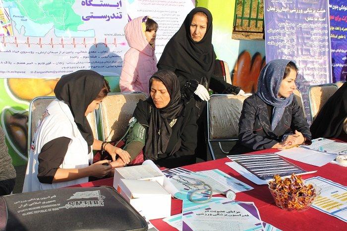 هیات پزشکی ورزشی استان زنجان پیشگام در بخش بانوان