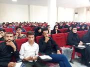 گزارش تصویری/برگزاری کلاس آسیب شناسی حرکات در ورزش و تعذیه ورزشی در شهرستان دیر