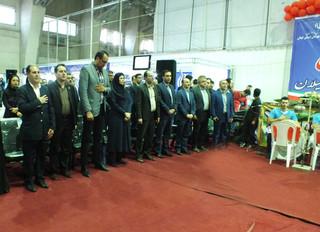 اختتامیه نمایشگاه عملی دستاوردهای ورزش و جوانان گیلان -مجموعه ورزشی یادگار امام رشت