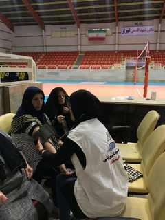 طرح غربالگری بانوان ورزشکار استان آذبایجان شرقی به مناسبت هفته تربیت بدنی