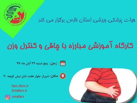 کارگاه مبارزه با چاقی استان فارس