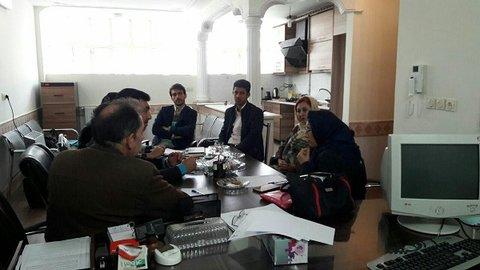 جلسه هیات رئیسه زنجان