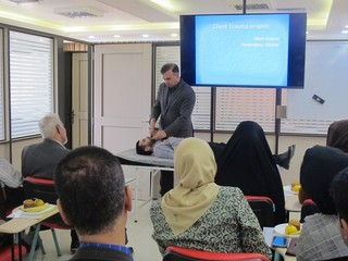 کلاس بازآموزی امداگری ورزشی همدان
