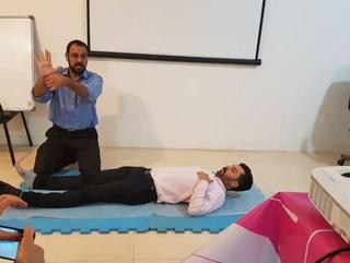 پایان دوره آموزشی ماساژ ورزشی در خوزستان