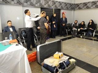 کارگاه آموزشی کمک های اولیه و پیشگیری از آسیب های ورزشی-کرمان