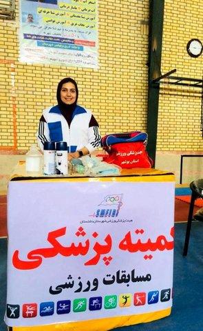 پوشش پزشکی مسابقات جشنواره دشتستان اداره آموزش و پرورش