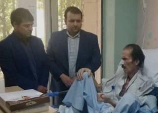 عیادت دکتر ملک محمدی از داور کشتی