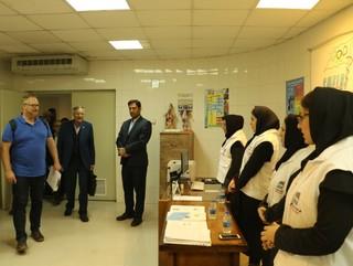 بازدید نماینده فدراسیون جهانی والیبال از هیات پزشکی ورزشی آذربایجان غربی