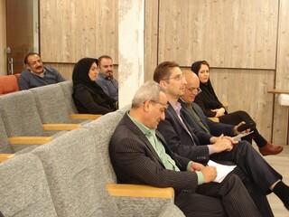 نشست هیات رئیسه هیات پزشکی ورزشی استان مرکزی برگزار شد