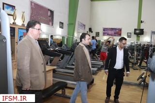 بازدید دبیرفدراسیون پزشکی ورزشی از باشگاه های شیراز