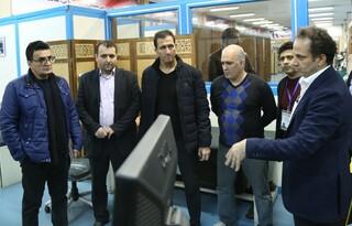 بازدید محمد بنا از فدراسیون پزشکی ورزشی