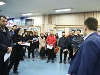 بازدید دانشجویان دانشگاه علامه طبرسی از فدراسیون پزشکی ورزشی